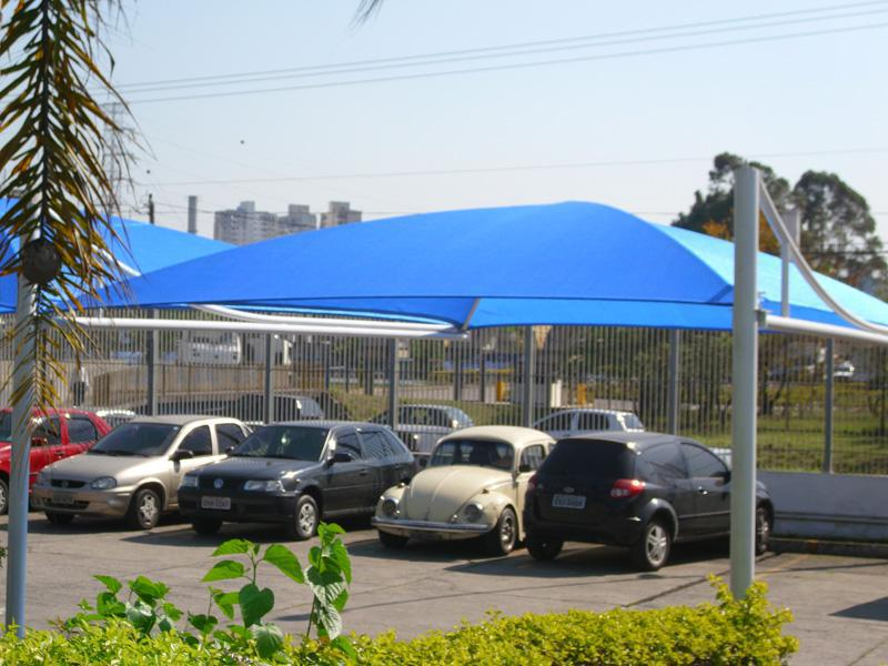 Cobertura para estacionamento