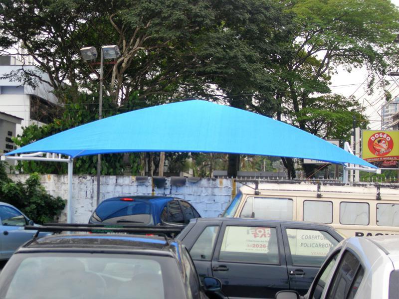 Cobertura estacionamento sombrite
