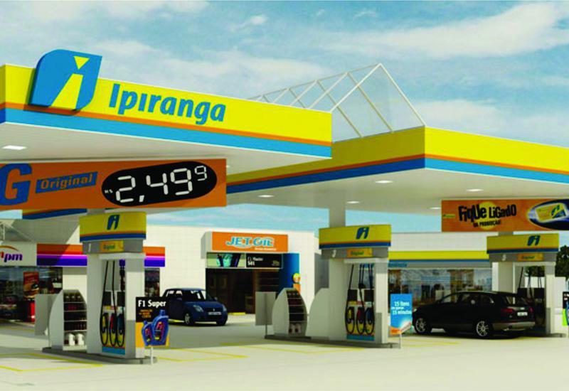 Coberturas para postos de gasolina