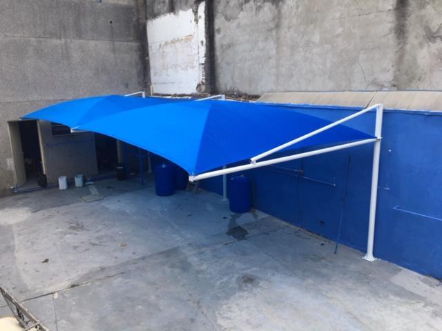 Sombreadores para garagem